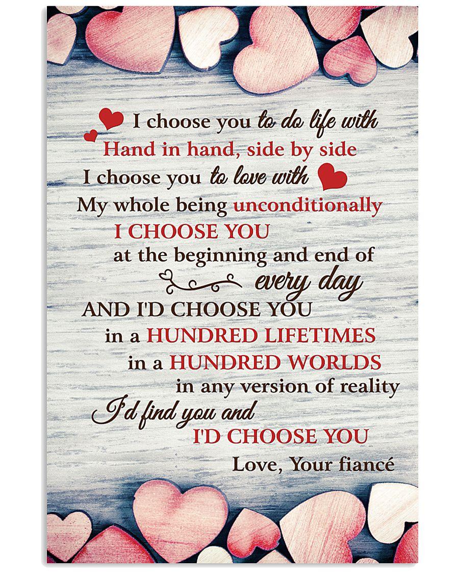 I Choose You To Do Life 11x17 Poster