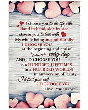 I Choose You To Do Life 11x17 Poster front
