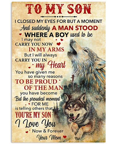 Son Wolf I'll Carry You In My Heart I Love You