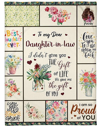 To My Dear Daughter-In-Law My Sunshine