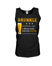 Drunkle Like An Uncle Only Way More Fun Unisex Tank thumbnail
