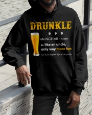 Drunkle Like An Uncle Only Way More Fun Hooded Sweatshirt apparel-hooded-sweatshirt-lifestyle-front-11