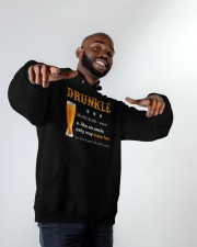 Drunkle Like An Uncle Only Way More Fun Hooded Sweatshirt apparel-hooded-sweatshirt-lifestyle-front-12