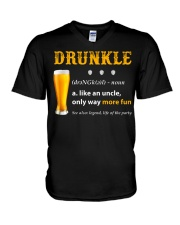 Drunkle Like An Uncle Only Way More Fun V-Neck T-Shirt thumbnail