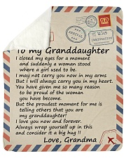 "I closed my eyss 4 moment Grandma-To-Granddaughter Sherpa Fleece Blanket - 50"" x 60"" thumbnail"