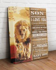 Lion- Never Forget That I Love You Dad-To-Son 11x14 Gallery Wrapped Canvas Prints aos-canvas-pgw-11x14-lifestyle-front-14