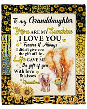 "Elephant-U R My Sunshine I Love U- GM To GD Fleece Blanket - 50"" x 60"" front"