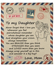 """Never Forget That I Love You Mom-To-Daughter Fleece Blanket - 50"""" x 60"""" front"""
