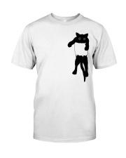 Cat Pocket Classic T-Shirt thumbnail