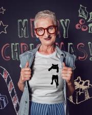 Cat Pocket Ladies T-Shirt lifestyle-holiday-crewneck-front-3