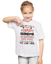 I Have A Crazy Grandma Youth T-Shirt lifestyle-youth-tshirt-front-2