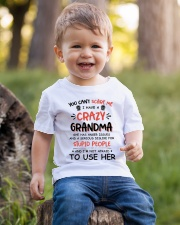I Have A Crazy Grandma Youth T-Shirt lifestyle-youth-tshirt-front-4
