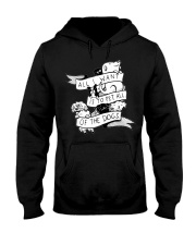 I want to pet all dogs Hooded Sweatshirt thumbnail