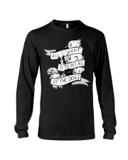 I want to pet all dogs Long Sleeve Tee thumbnail