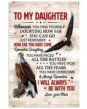 Whenever U Find Yourself Mom To Daughter Vertical Poster tile