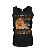 To My Son Never Forget That I Love You Unisex Tank thumbnail
