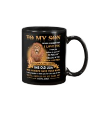 To My Son Never Forget That I Love You Mug front