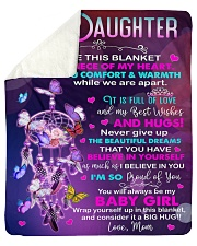 """Inside This Blanket There Is Piece Mom To Daughter Sherpa Fleece Blanket - 50"""" x 60"""" thumbnail"""