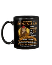 To My Dear Son-In-Law From Mother-in-law Mug back