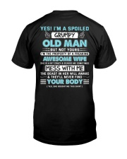 I 'm A Spoiled Grumpy Old Man Of Awesome Wife Premium Fit Mens Tee thumbnail