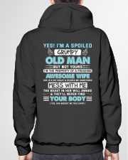I 'm A Spoiled Grumpy Old Man Of Awesome Wife Hooded Sweatshirt garment-hooded-sweatshirt-back-04