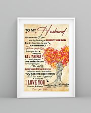 Husband Thanks For Being My Life Partner I Love U 11x17 Poster lifestyle-poster-5