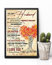 Husband Thanks For Being My Life Partner I Love U 11x17 Poster lifestyle-poster-8