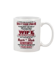 God Sent Me My Awesome Wife Mug thumbnail