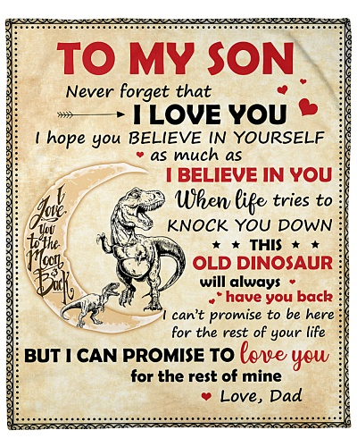 Son This Old Dinosaur Will Always Have Your Back