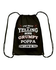 I'm A grumpy Poppa Drawstring Bag thumbnail