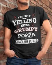 I'm A grumpy Poppa Classic T-Shirt apparel-classic-tshirt-lifestyle-26