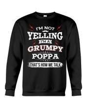I'm A grumpy Poppa Crewneck Sweatshirt thumbnail
