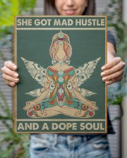 Hippie Girl She Got Mad Hustle And A Dope Soul 11x14 Gallery Wrapped Canvas Prints aos-canvas-pgw-11x14-lifestyle-front-24