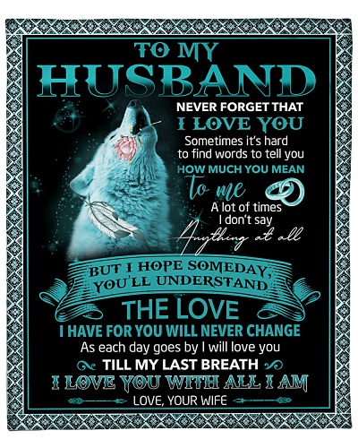 To My Husband I'll Love You Till My Last Breath