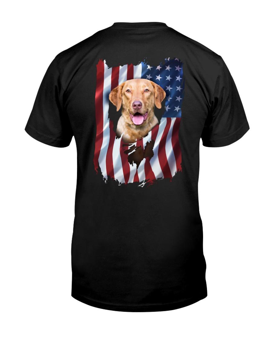 Chesapeake bay retriever Flag Classic T-Shirt