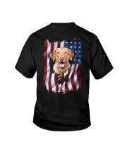 Chesapeake bay retriever Flag Youth T-Shirt thumbnail