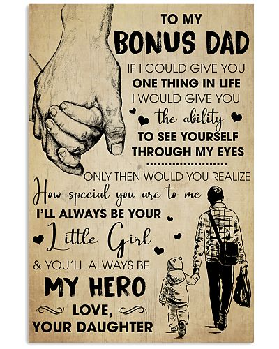 Bonus Dad You'll Always Be My Hero - For Dad