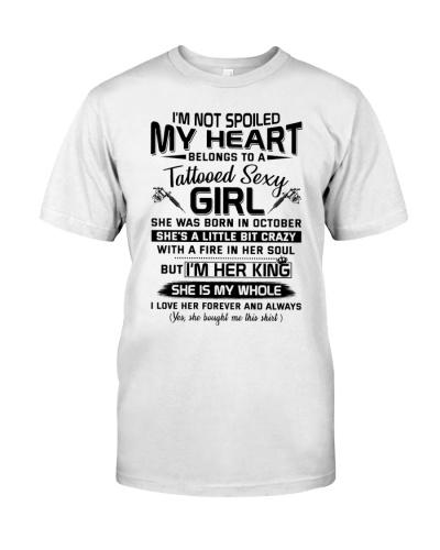My Heart Belongs To A Tattooed Sexy Girl