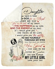 "Once Upon A Time When I Asked God-Dad To Daughter Sherpa Fleece Blanket - 50"" x 60"" thumbnail"