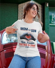 Mom And Son Best Freakin' Partner In Crime Ever Ladies T-Shirt apparel-ladies-t-shirt-lifestyle-01