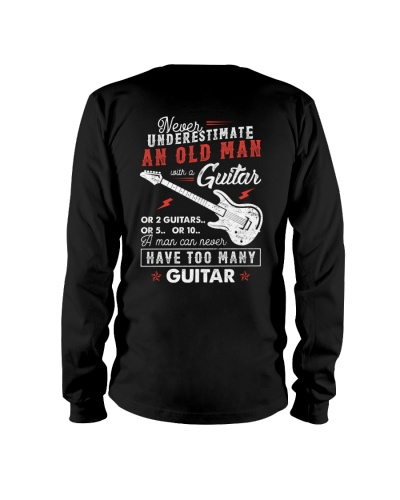 Never Underestimate An Old Man With A Guitar