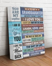 Never Forget That I Love U Grandma-Granddaughter 11x14 Gallery Wrapped Canvas Prints aos-canvas-pgw-11x14-lifestyle-front-14