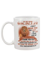Son-In-Law I Gave My Daughter from Mother-in-law Mug back