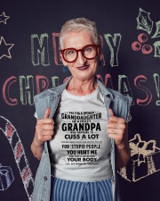 I Have A Crazy Grandpa Ladies T-Shirt lifestyle-holiday-crewneck-front-3