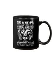 Grandpa step out of the shadows protect mine Mug thumbnail