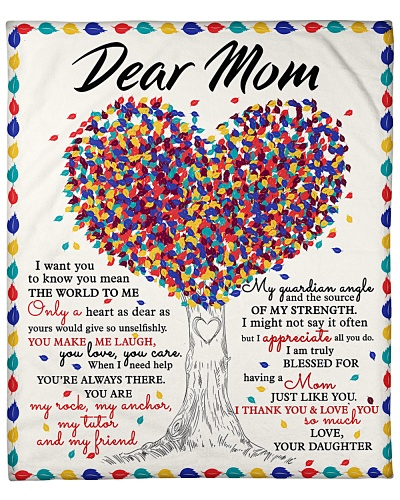 Dear Mom I Thank You And Love You So Much