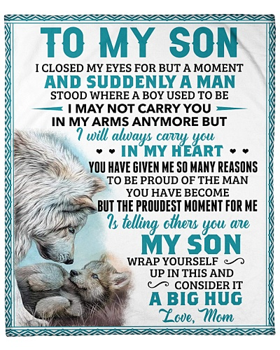 I Closed My Eyes For But A Moment-Wolf Mom To Son