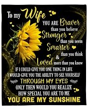 """To My Wife How Special You Are To Me Fleece Blanket - 50"""" x 60"""" front"""