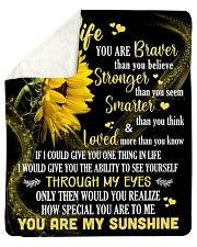 """To My Wife How Special You Are To Me Sherpa Fleece Blanket - 50"""" x 60"""" thumbnail"""