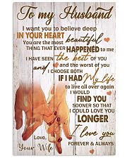 Husband You're The Most Beautiful Thing 11x17 Poster front